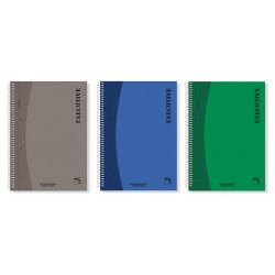 Cuaderno microperforado Pacsa tapa polipropileno