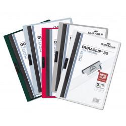 Dossier Durable con pinza Duraclip 30 hojas