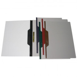 Dossier fastener Grafoplas con lomo curvo