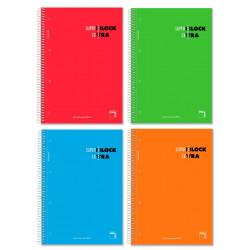 Cuaderno A4 microperforado Pacsa