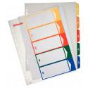 Índices y separadores Esselte imprimibles A4