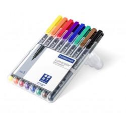 Staedtler Lumocolor S 8 colores