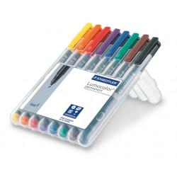 Staedtler Lumocolor F 8 colores