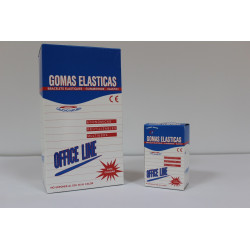 Gomas elásticas Disnak contenido 100 gr.