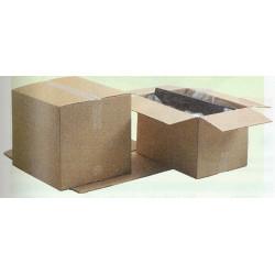 Caja de embalaje canal sencillo