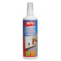 Spray limpieza Apli para pizarras blancas