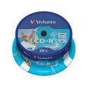 Verbatim CD-R 52x imprimible