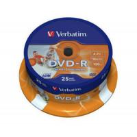 Verbatim DVD-R 16X 4,7GB imprimible