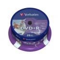 Verbatim DVD+R 16X 4,7GB imprimible