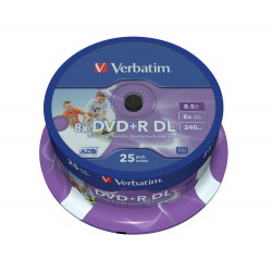 Verbatim DVD+R 8,5GB imprimible doble cara