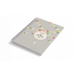 Cuaderno A5 tapa blanda BUNNY