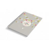 Cuaderno A6 tapa blanda BUNNY