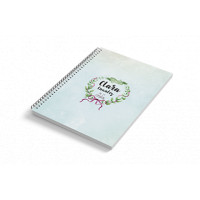Cuaderno A6 tapa dura LAZOS