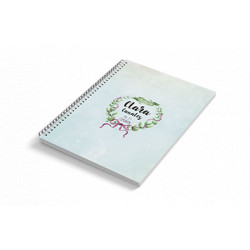 Cuaderno A6 tapa blanda LAZOS