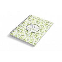 Cuaderno A5 tapa blanda NATURAL