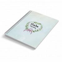 Cuaderno A5 tapa blanda LAZOS
