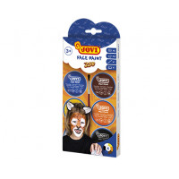 Maquillaje crema face paint zoo