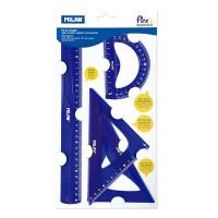 Set dibujo 30 cm Flex&Resistant azul